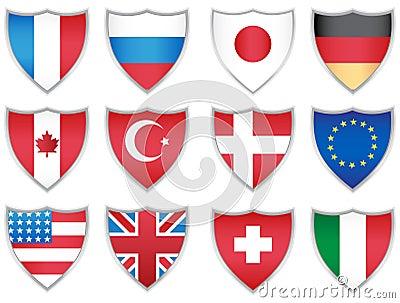 Flag Shields