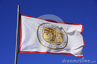 Flag of Society of Friends of Old Dubrovnik