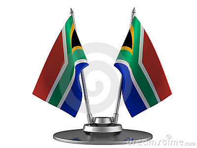 The flag South Africa