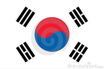 Flag of South Korean