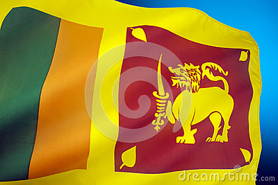 flag of sri lanka stock image image 35131381