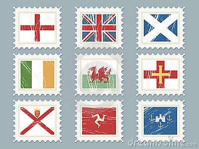 Flag stamps set 2