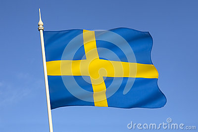 Flag of Sweden - Scandinavia - Europe