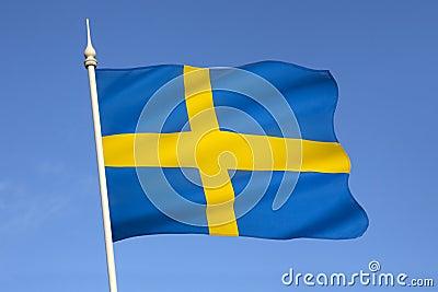 Flag of Sweden - Scandinavia - Europe