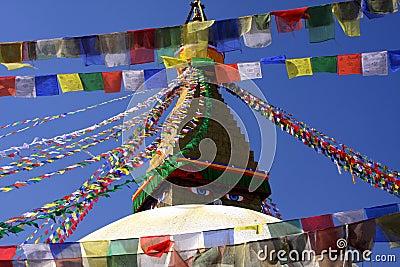 Flag temple