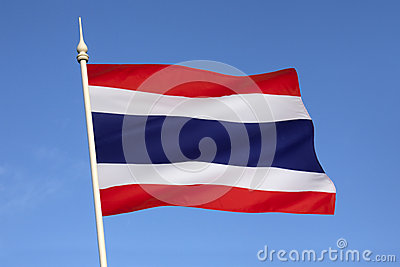 Flag of Thailand - South East Asia