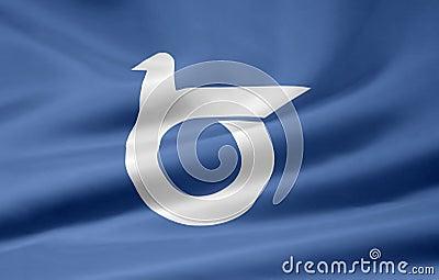 Flag of Tottori - Japan