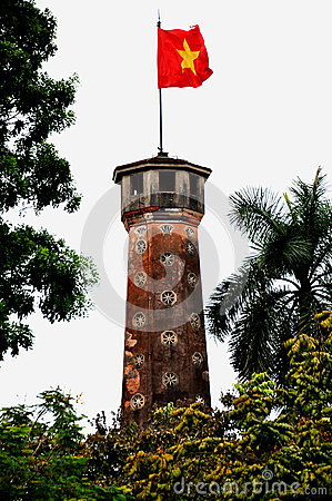 Flag Tower,Hanoi,Vietnam Editorial Stock Photo