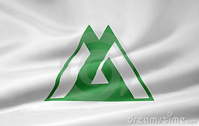 Flag of Toyama - Japan