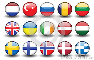 Flag turkey russia united kingdom sweden finland