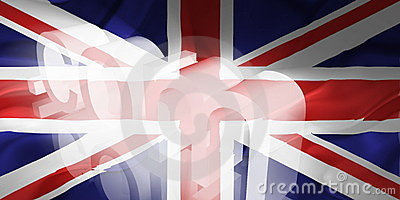Flag of United Kingdom wavy www internet