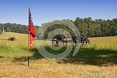 Flag and Wagon