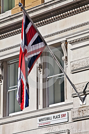 Flag and Whitehall