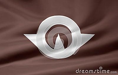 Flag of Yamaguchi - Japan
