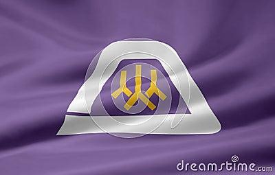 Flag of Yamanashi - Japan