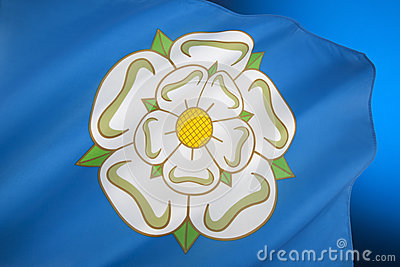 Flag of Yorkshire - United Kingdom