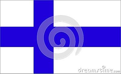 Flaga finlandia