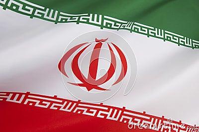 Flagga av Iran