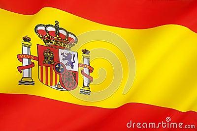Flagga av Spanien