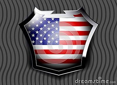 Flagga av USA