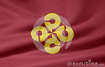 Flagga japan shimane