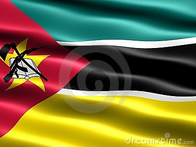 Flagga mozambique