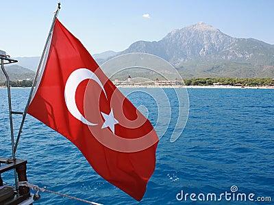 Flagga Turkiet