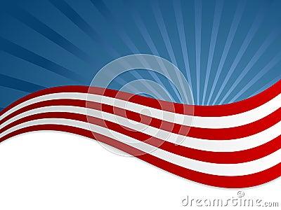 Flaggehintergrund