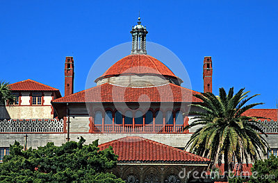 Flagler college  located in historic St Augustine Florida