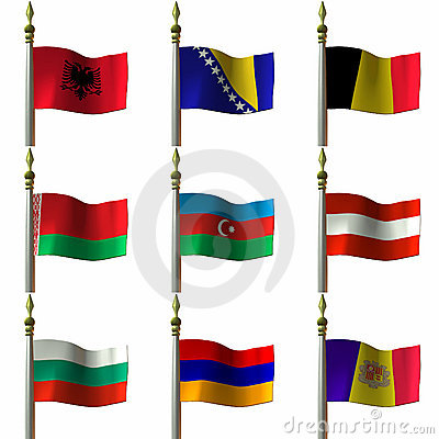 Free Flags Royalty Free Stock Photo - 1904755