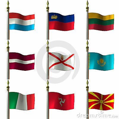 Free Flags Stock Image - 1919681