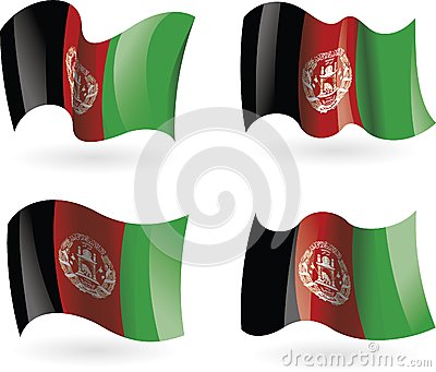 4 Flags of Afghanistan