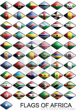 Flags Of Africa, Countries, Nations, Colours