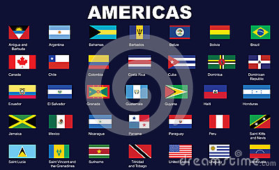 Flags of Americas
