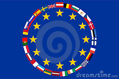 Flags of countries EU
