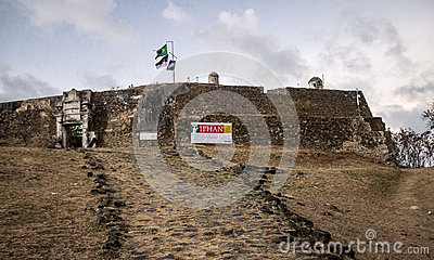 Flags Fernando de Noronha Editorial Stock Image