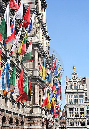 Flags internationalen