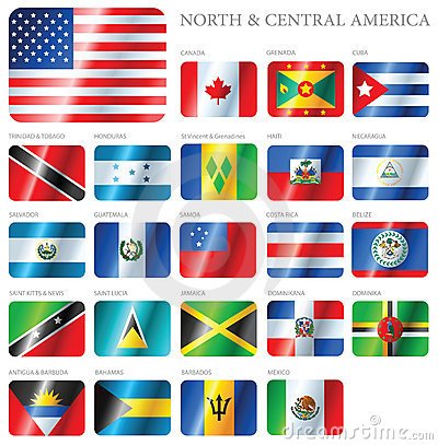 Flags North & Central America