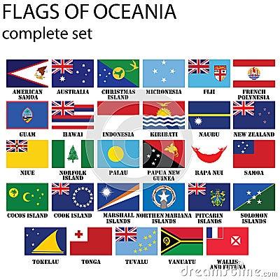 Flags of Oceania