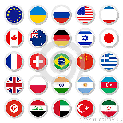 Free Flags Of The World Stock Photo - 38478600