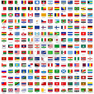 Free Flags Of The World Stock Photo - 6737420