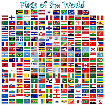 Free Flags Of The World Vector Stock Photos - 29500193