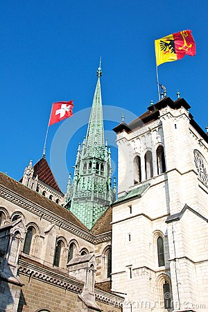 Flags over Geneva