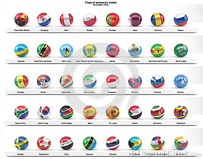 Flags of sovereign states (series)