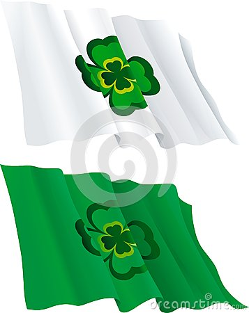 Flags for  St. Patricks Day
