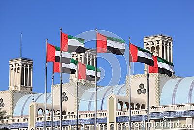 Flags of United Arab Emirates