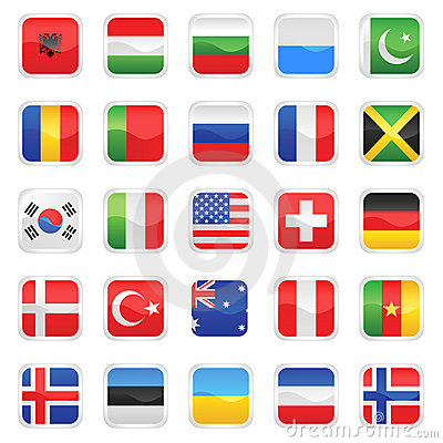 Flags vector 2