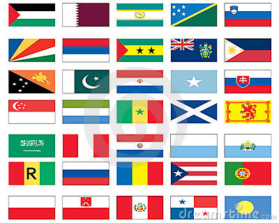 Flags of the world 6 of 8