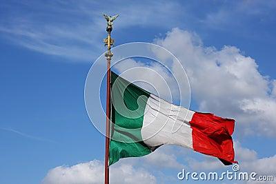 яркая цветастая итальянка flagstaff флага