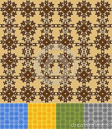 Flake pattern